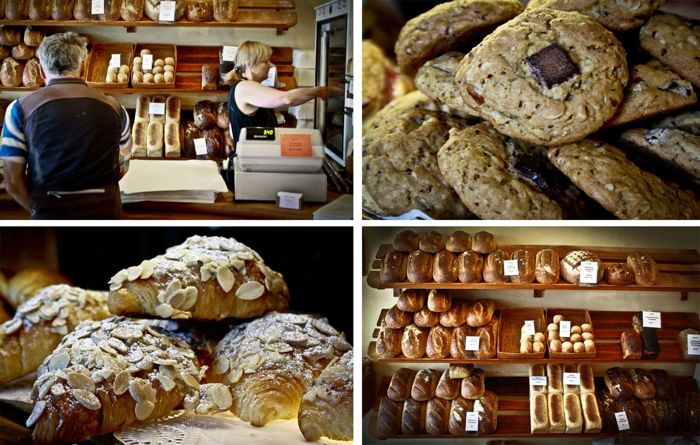 bakery collage