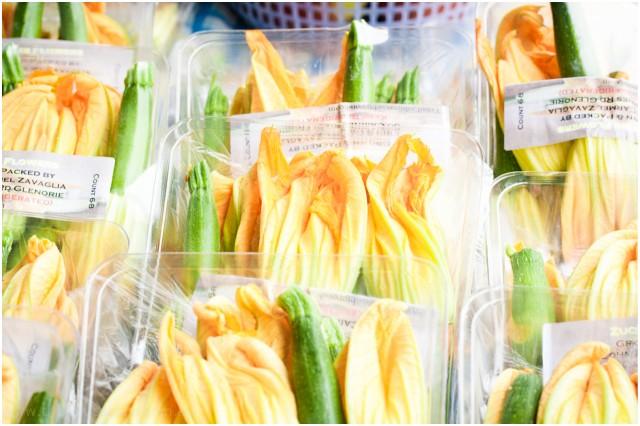 Zucchini Flower love