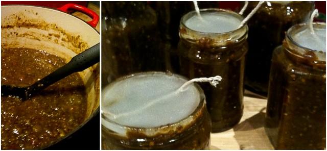 slops with jar detail